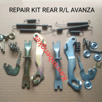 Repair kit setelan rem belakang AVANZA XENIA