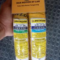 1 Set Ban Motor Dunlop D108 Ring 17 250-275 Tube Type (Bukan Tubeless)