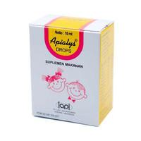 APIALYS DROP - 10 ML / PENAMBAH NAFSU MAKAN BAYI / MULTIVITAMIN BAYI