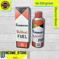 Robinson Butane Fuel 220g / isi ulang korek api