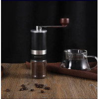 AMAZONE TOP SELLING HIGH QUALITY MANUAL COFFEE GRINDER BLACK COLOUR