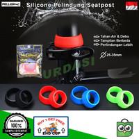 Karet Silikon Pelindung Seatpost handlebar Aksesoris Sepeda Lipat MTB