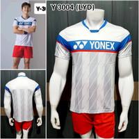 Baju badminton Yonex Y3004 kaos LYD grad ori import terbaru