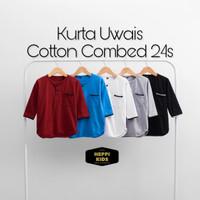 baju koko anak laki-laki/ kurta anak / baju muslim anak kaos 2-8 tahun