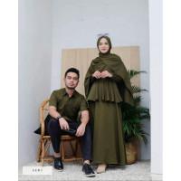 Baju Kondangan Couple Keluarga Brukat Baju Lebaran Pasangan Murah