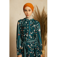 Dress Muslim Wanita LID Balqis Dress Printed - LXL