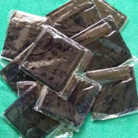 masker buff bandana - Hitam, All Size