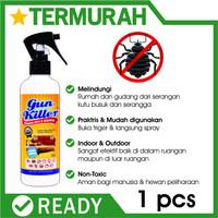 Obat Anti Kutu Kasur Tungau Gun Killer Pembasmi Busuk tumbila Sofa bug