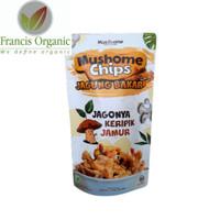 Mushome Chips - Keripik Jamur rasa Jagung Bakar