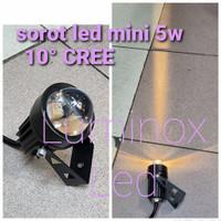 lampu tembak spotlight taman led cob 5watt 5w 5 w 5 watt outdoor 220v