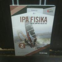 buku IPA Fisika SMP kelas 8 penerbit Erlangga