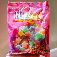 PERMEN JELLY 1 KG IMPORT MALAYSIA | WAISUN FRUIT MIXED PASTILLES|CANDY