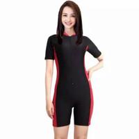 baju renang diving unisex dewasa/kombinasi polos