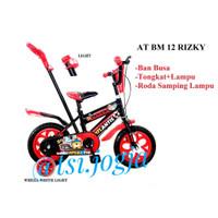 Sepeda anak dorong Bmx 12 Eva Dorong Ban Mati
