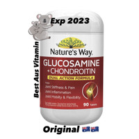 Natures Way Glucosamine Chondroitin Joint Repair Action 90 Tablets Ori