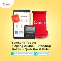 Mesin Kasir Tablet Komplit/ Tab A8/ Stand Holder/ Printer/ Qasir Pro