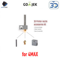 Original Anycubic 4MAX Hotend Heatblock Hotblock MK8 Replacement
