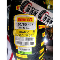 Pirelli 150 60 - 17 DIablo Rosso Sport Ban Motor Pireli Ring 17