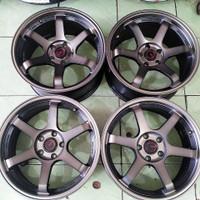 1 SET Velg R18 Egois Wheels Import BELANG Baut 5 pcd 114 TE 37 TE37 18