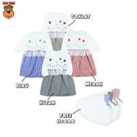 MacBee Baju Anak Perempuan Gamis Lebaran Collection Dafiyah