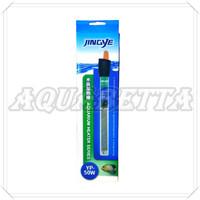JINGYE HEATER AQUARIUM 50 Watt PEMANAS AIR / PENGHANGAT AIR 50watt 50w