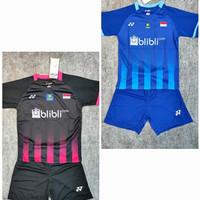 Setelan baju badminton anak /kids Yonex Y153 the minion