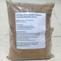 Tepung Ikan Pakan Ternak ( Kadar Protein 50% Up )