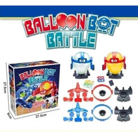 Mainan Anak Adu Jotos Robot Balon Boxing Game Balloon Bot Battle Pops