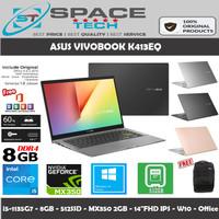LAPTOP ASUS VIVOBOOK K413EQ i5-1135G7 8GB 512GB MX350 2GB 14FHD WIN10