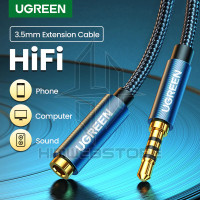 UGREEN 40673 Kabel Extension Audio AUX Jack 3.5mm HiFi Headphone PC