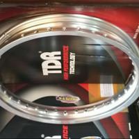 Velg TDR W Shape 215 ring 17 Silver