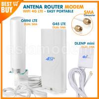 ANTENA 4G LTE MODEM WIFI Router SMA TPLINK ORBIT Huawei Tenda BOLT DLL
