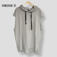 Forever 21 Hoodie Shirt Thrift PL Original - XL