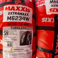 Ban tubeless Maxxis extramaxx 90/90-14 for beat/vario 125/mio m3/mio J