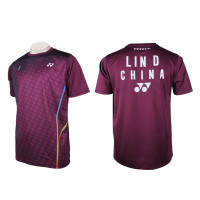 Yonex Lin D Mandarin T-Shirt Badminton Jersey 2018 [TRM16393EX]
