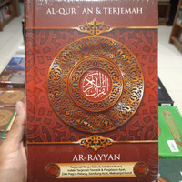 Al-Quran Mushaf Terjemah Ar-Rayyan A5 Hc