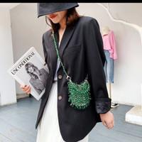 fashion bag tas selempang - green