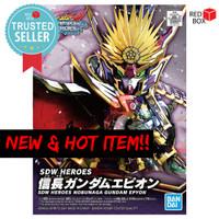 SD Nobunaga Gundam Epyon SDW Heroes 02 Bandai Original Gunpla World