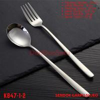 Sendok Garpu Korea Sujeo Set Stainless Steel