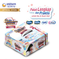 Paket Perlengkapan Melahirkan Unicharm - MamyPoko Charm Lifree