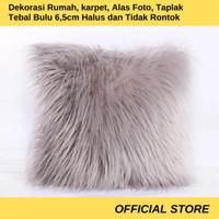 Sarung Bantal 40x40 Bulu Korea Premium Bagus Untuk Dekorasi
