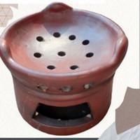 Anglo Tungku kompor tanah liat kualitas halus,tebal,awet