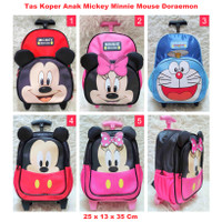 Tas Koper Anak Mickey Mouse / Ransel Trolly TK 2 Sleting