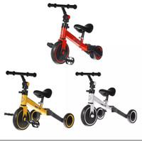 Sepeda Anak Tiga Roda 3 In 1 Sport Happy Baby Tricycle Balance Bike - Putih