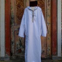 Djellaba morocco/jubah maroko/baju sholat/hoodie katun/polykatun/linen