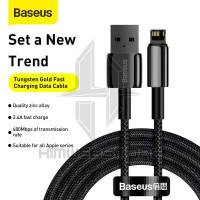 BASEUS Kabel Tungsten Gold Lightning Fast Charging Iphone Charger