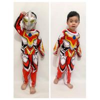 kostum anak ultraman go/baju ultramen murah meriah/kostum superhero - 2 tahun