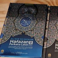 Al-Quran Hafazan Perkata Latin 8Blok Warna A5 Alquran Hafalan Alqosbah