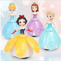 Twirling Singing Princess Toys - Mainan Frozen Sophia Berputar Nyanyi