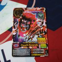 animal kaiser ultra rare death scorch + free 5 kartu